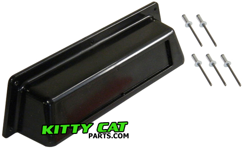 we stock arctic cat tunnel handle and reflector kits for 1972-1994 arctic  cat kitty cat models  this kit comes with the stock plastic handle,  reflector that
